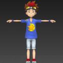 Tagiru Akashi Free Anime 3d Model