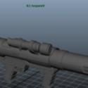 Rocketlautcher Free 3d Model