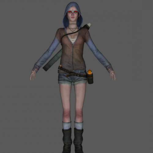Kat Girl Character