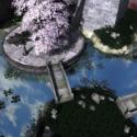 Edificio de la pagoda de Asia