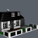 Modern House 3d Model Building