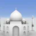 Taj Mahal Temple 3d Model