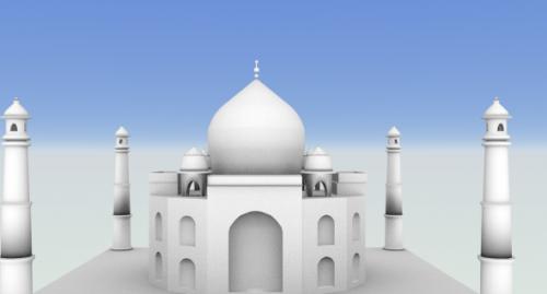 Taj Mahalin temppeli