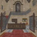 Ashford House Main Hall Free 3d Model
