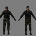 Soldier Free 3d Model