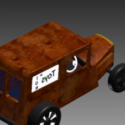 33 Willis Panel Truck Free 3d Model