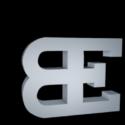 Bugatti Logo Free 3d Model