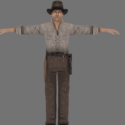 Indiana Jones Free 3d Model