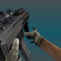 Animation Cz805 Gun Weapon