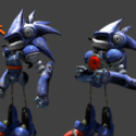 Mecha Sonic Free 3d Model