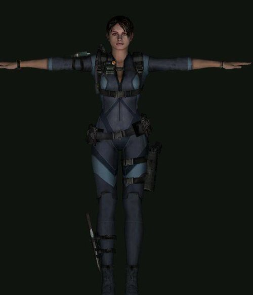 Jill Valentine Resident Evil Character