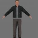 007 Daniel Craig Jacket Free 3d Model