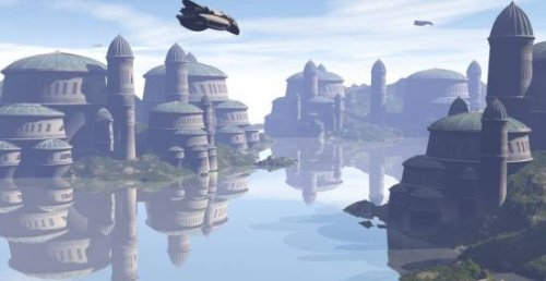 Naboo Complex Fantasy City Edificios