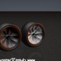 Racing Wheel 2 Free 3d Model