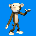 Evil Monkey Cartoon  Free 3d Model