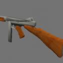 M1a1 Thompson Free 3d Model