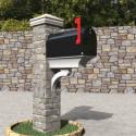 Classic Mailbox Post Free 3d Model