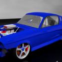 Drag Yarışı Shelby Gt500