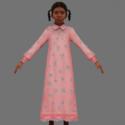 Tpe Hero Girl Free 3d Model
