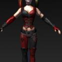 Harley Quinn 2 Free 3d Model