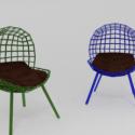 Designer Chairs Free 3d Model