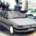Peugeot 405 Car 3d Model