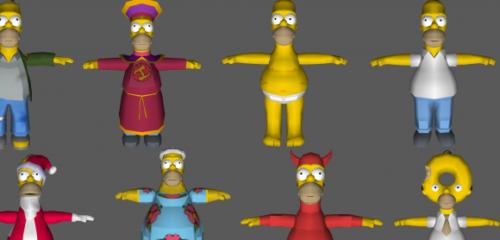 Simpsonit osuvat ja ajavat - Homer