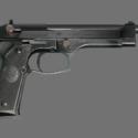 RPD警察ベレッタ銃