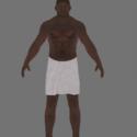 Prison Break Black Prisoner Towel
