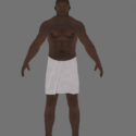 Prison Break Black Prisoner Towel Free 3d Model