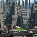 Sci-fi Scenery Building Free 3d Model