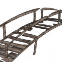 Gamle træbro