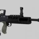 L85a2 Military Gun Free 3d Model