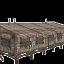 Wooden Barracks Houses 3d Model
