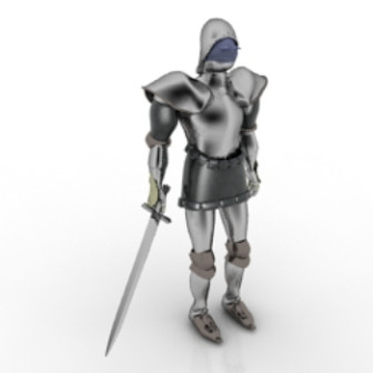 Knight Character 3d Max Model Free