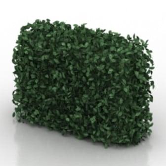 Green Wall Plant 3d Max Model Free