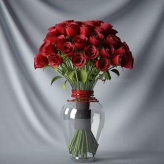 Kukka ruusu ruukku