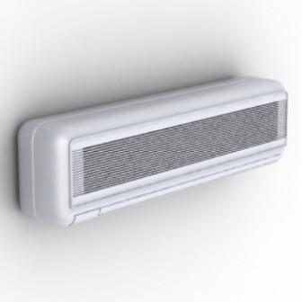 New Small Frequency Air Conditioning 3d Max Model Free