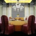 Retro Restaurant Design Interior