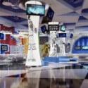 Company Lobby Interior 3d Max Model