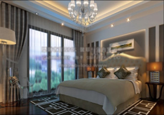Modern Bedroom Interior Design 3d Model 3ds Max Open3dmodel 16617