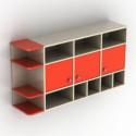 Orange Wall Cabinet 3d Max Model Free
