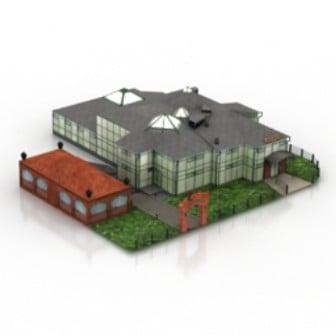 Building Villa Landscape 3d Max Model Free 3dsmax Free