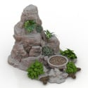 Outdoor Rock Garden 3d Max Model Free