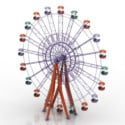 Ferris Wheel 3d Max Model Free