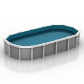 Simple swimming pool 3d max model free 3ds max free download id16773 for Swimming pool 3d model free download