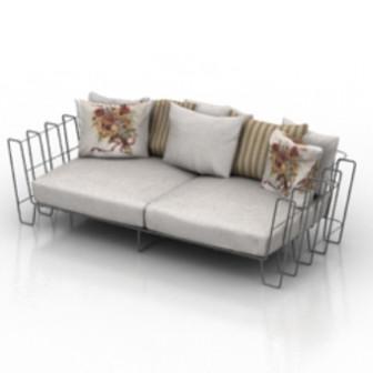 Home Cozy Sofa Furniture 3d Max Model Free 3ds Max Free