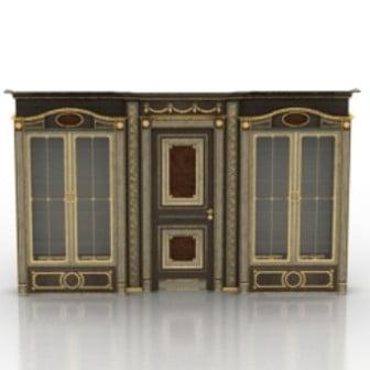 European Luxury Door Decoration