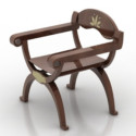 Old Seat Woden Chair
