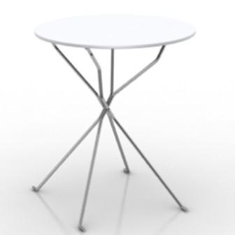 Easy Desk 3d Max Model Free